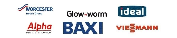 Boiler manufacturers - Worcester Bosch, Glowworm, Ideal, Alpha, Baxi and Viessmann