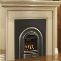 Gas fire and fire surround
