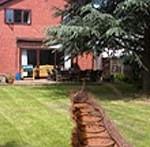 We install ground source heat pumps