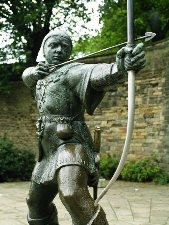 Robin Hood in Nottingham