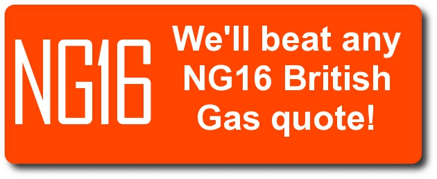 We'll beat any NG16 British Gas quote