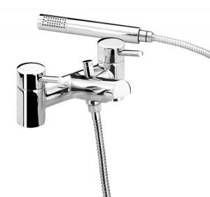 Bristan Ecosmart bath taps with shower