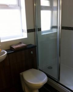 New bathroom/shower room