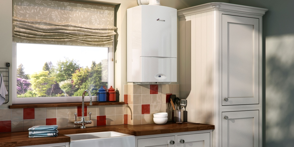 Gas central heating systems